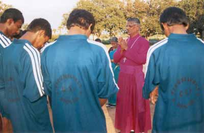 After winning inter-diocese volley ball tournament